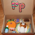 Letter 'P' Alphabet Box & Sensory Bin