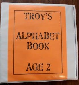 How to Make an Alphabet Book