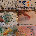 Shaving Cream Sensory Play