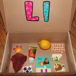 Letter 'L' Alphabet Box