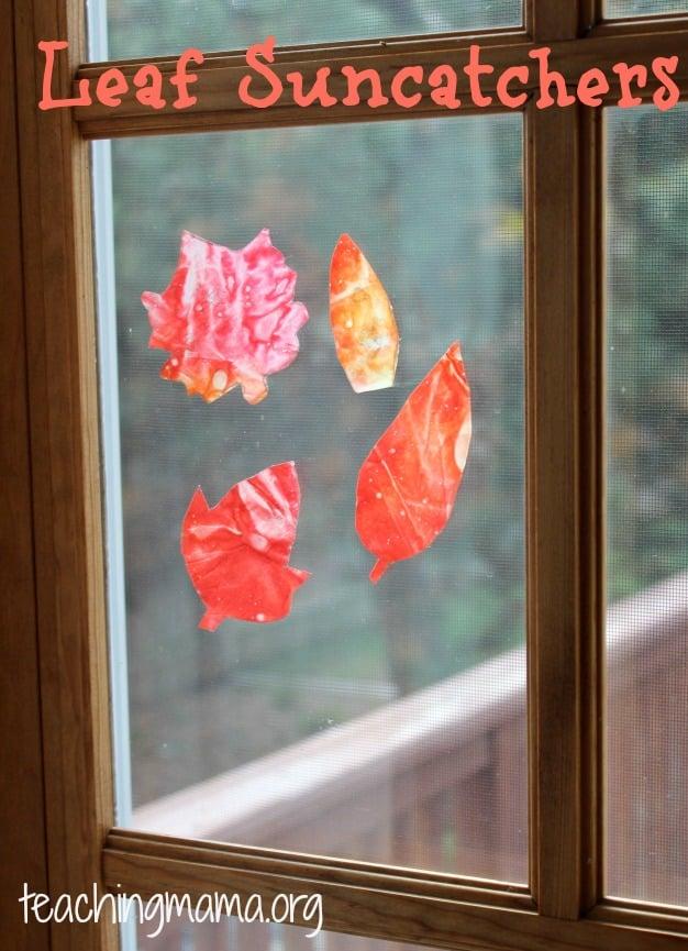 Leaf Suncatchers