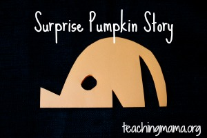Surprise Pumpkin Story