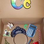 Letter 'C' Alphabet Box