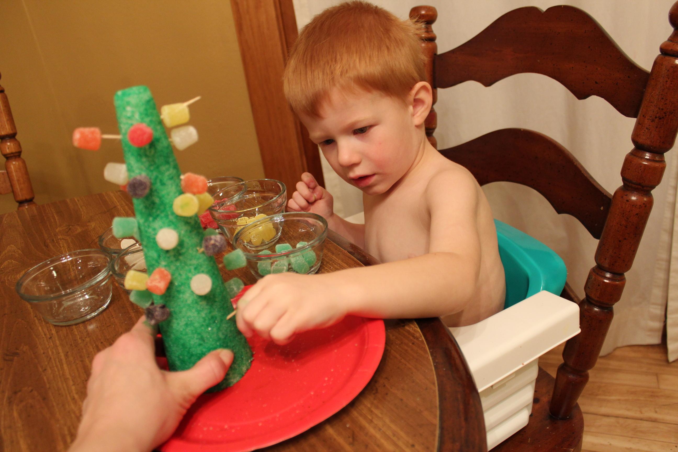 Jolly Christmas Tree Craft