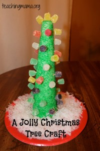 A Jolly Christmas Tree Craft