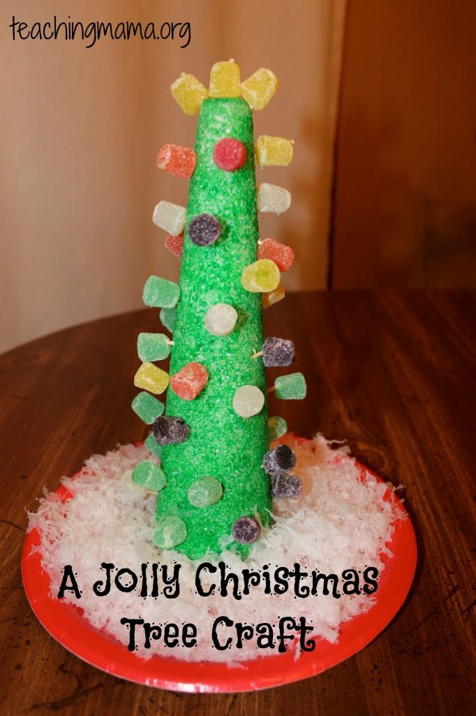 A Jolly Christmas Tree Craft