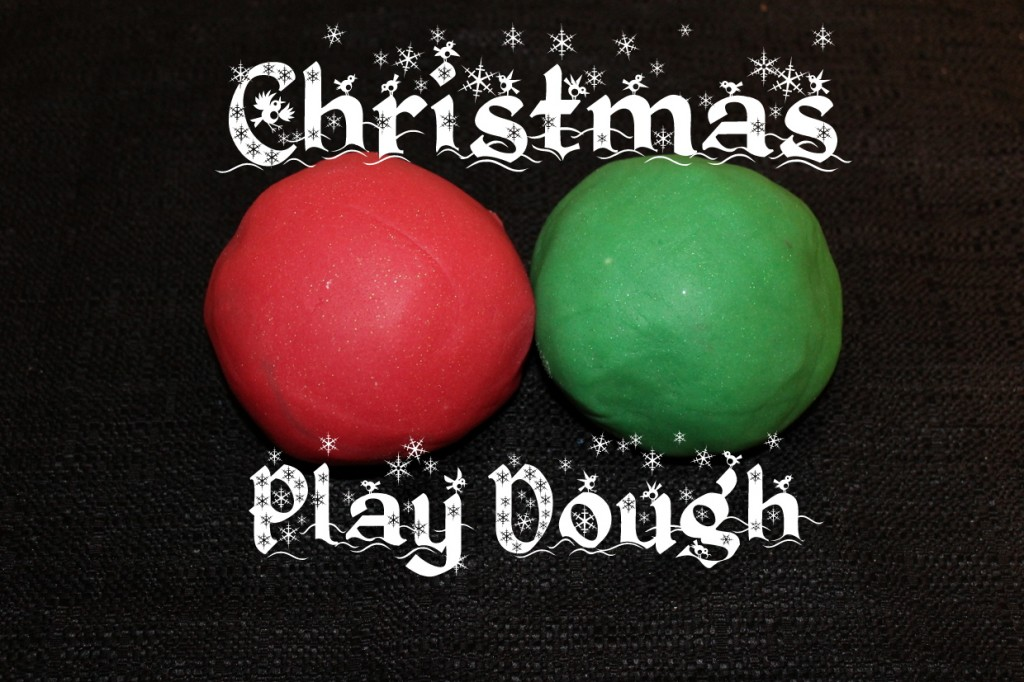 Christmas Sparkly Play Dough