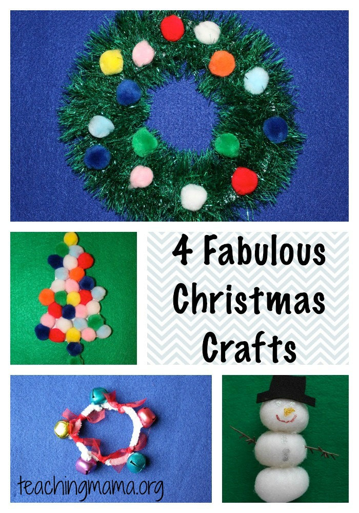 4 Fabulous Christmas Crafts