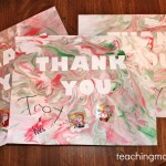 Shaving Cream Thank You Notes