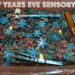 New Year's Eve Sensory Tub