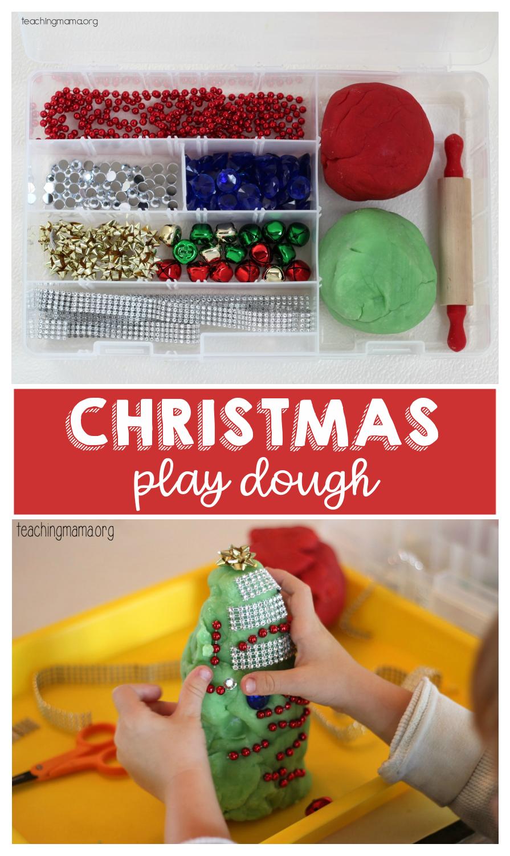 christmas play dough - the best recipe!