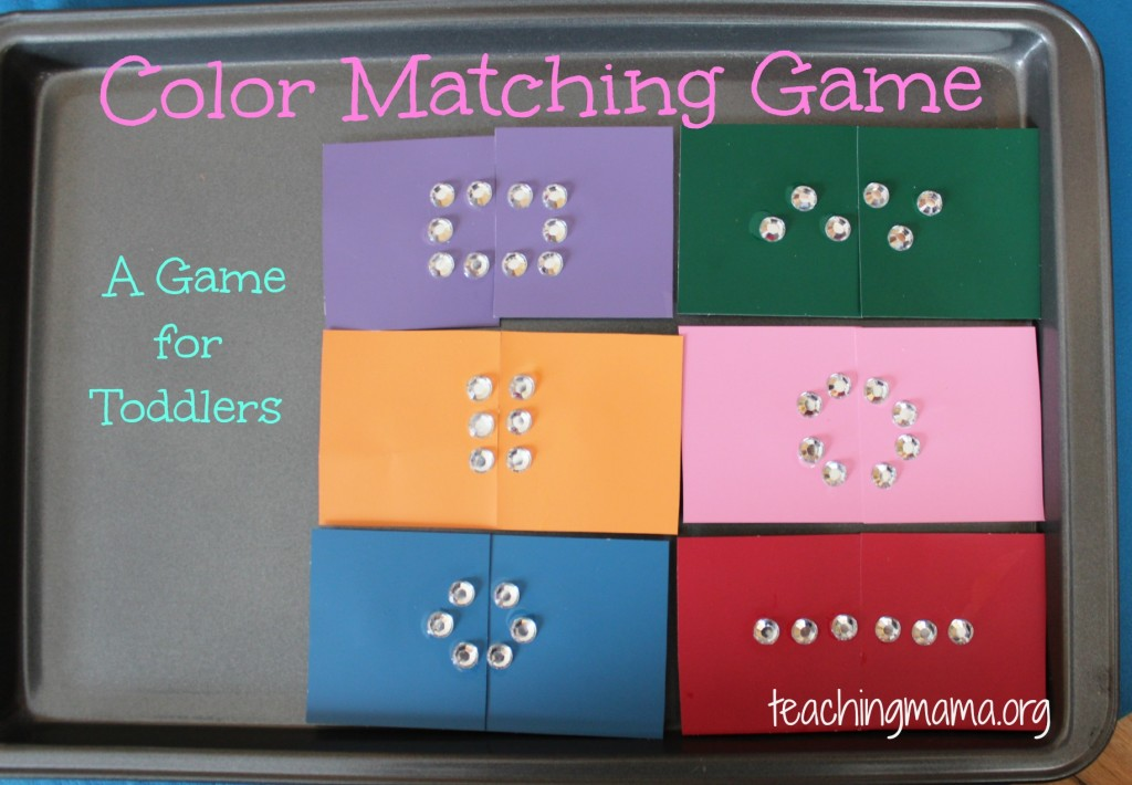 color matching game - Color Games For Toddlers