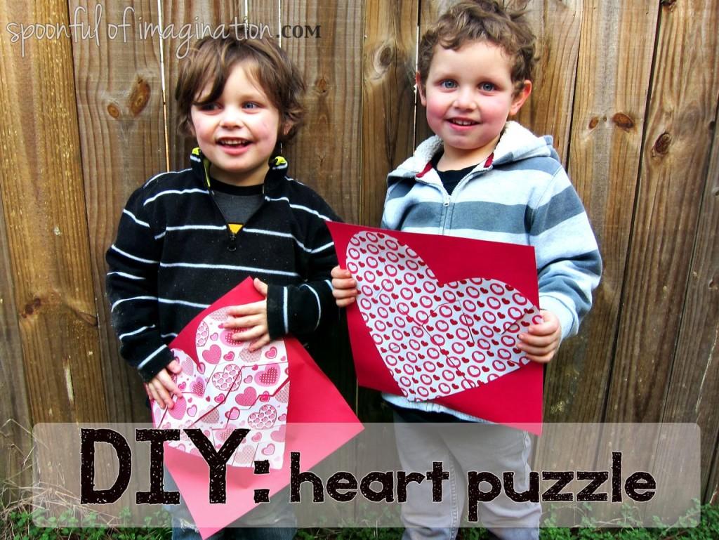DIY Heart Puzzle