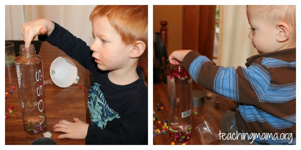 Discovering Sensory Bottle