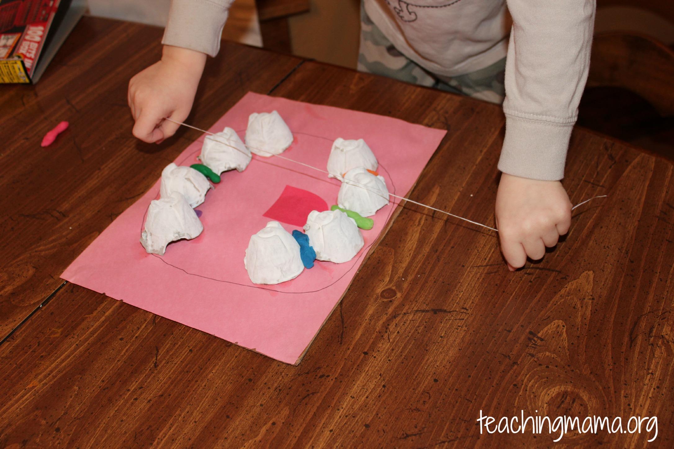 Flossing Activity For Preschoolers