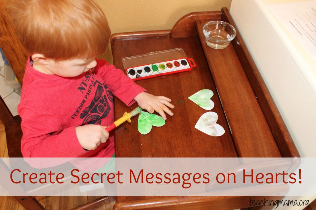 Create Secret Messages on Hearts!