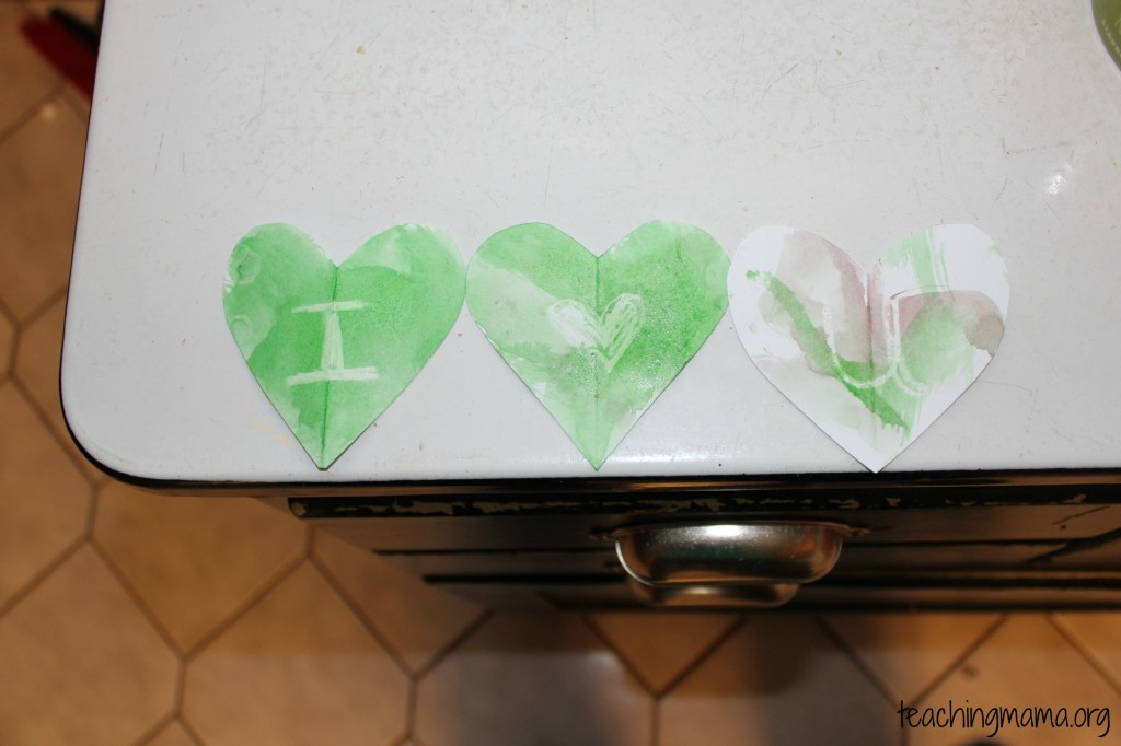Secret Messages on Hearts