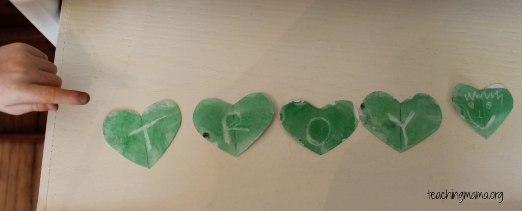 Secret Messages on Hearts