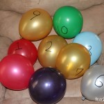 Learning Numbers with Balloons