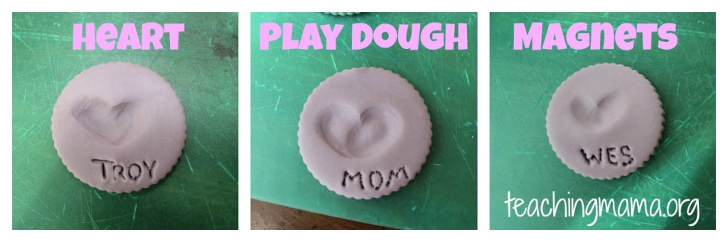 Play Dough Magnets