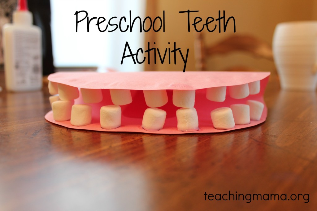 preschool dental health activities model craft for preschoolers 125