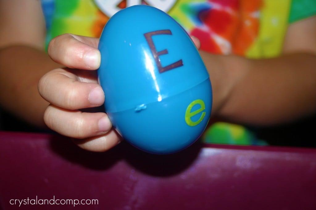Alphabet Eggs