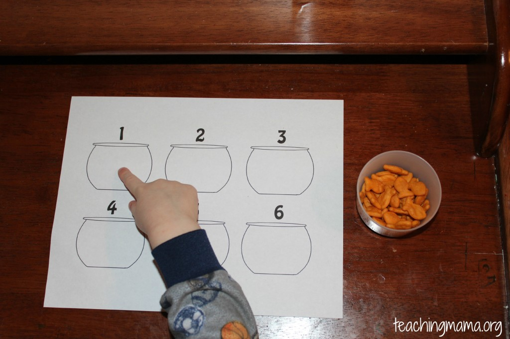 Counting with Goldfish