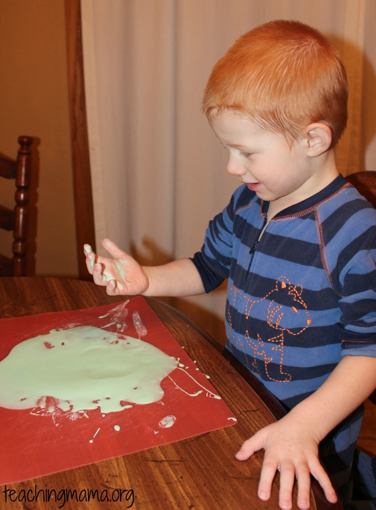 Discovering Oobleck