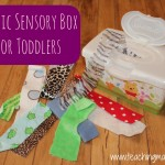 Toddler Tuesday: Fabric Box