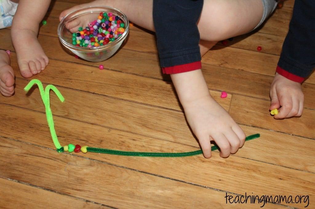 Fine Motor Skills Beads