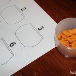 Fine Motor Skills: Tweezers & Goldfish