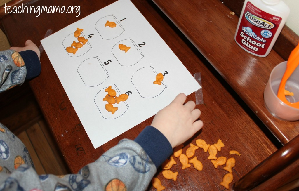 Goldfish Counting