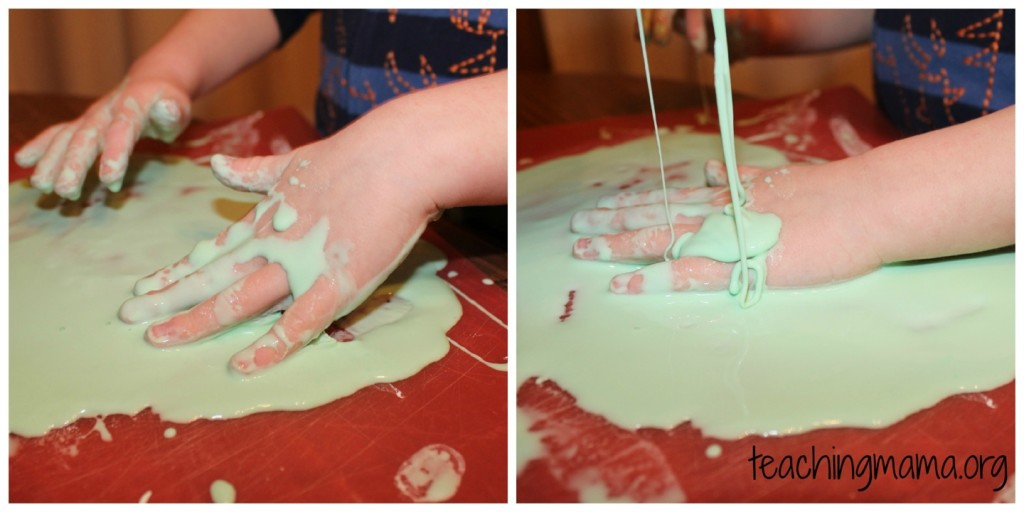 Hands in Oobleck