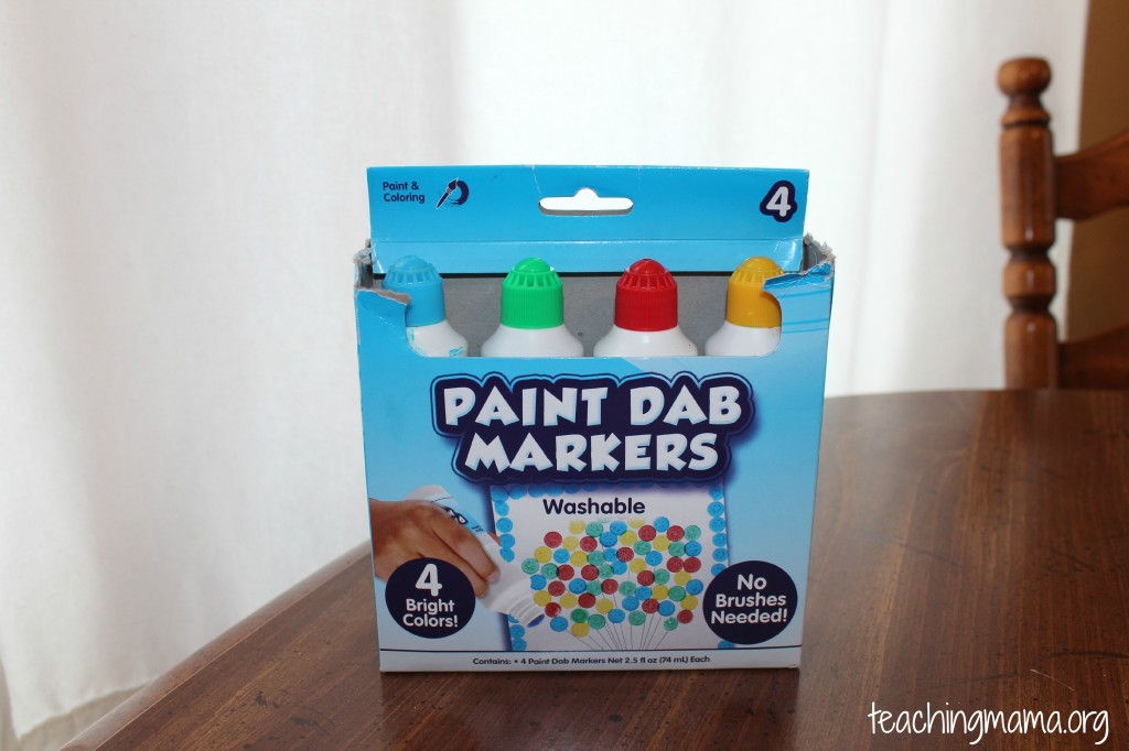 Paint Dab Markers