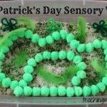 St. Patrick's Day Sensory Tub