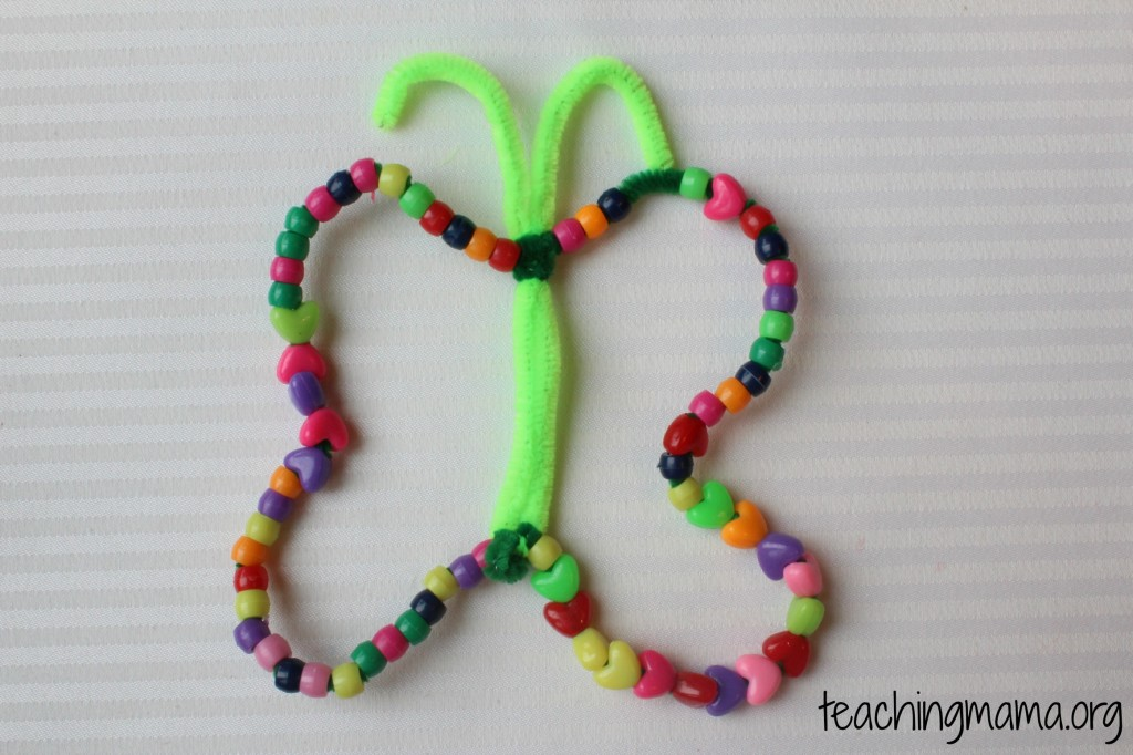 Stringing Beads Butterfly