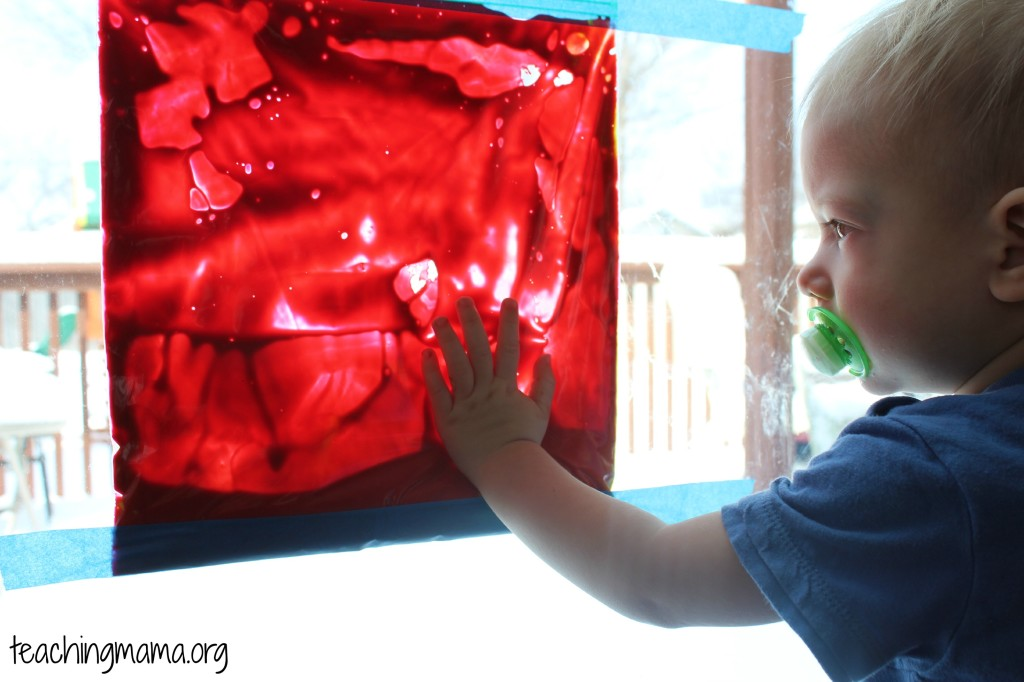 Window Painting for Toddlers