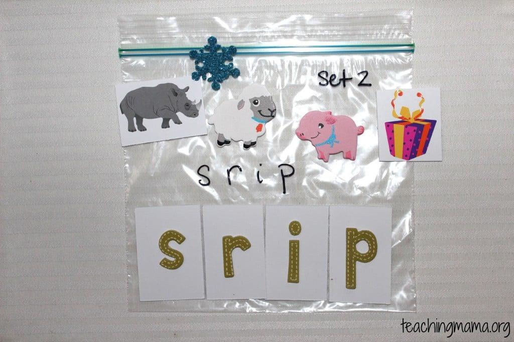 Alphabet Sounds Bag