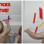 Toddler Tuesday: Foam Sticks