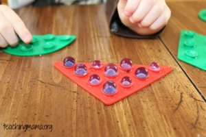 Fine Motor Skills with Water Beads
