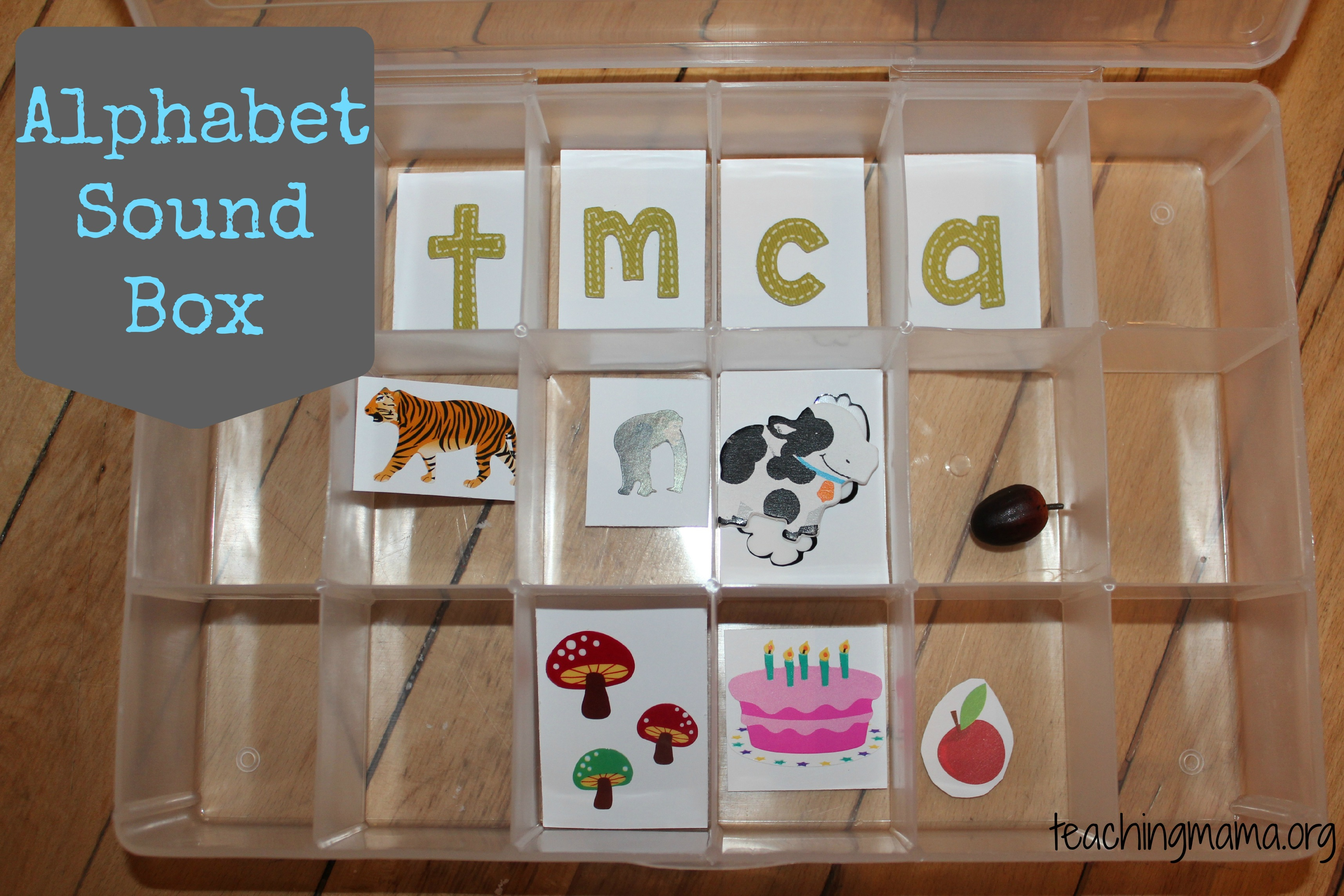 Creating an Alphabet Sound Box