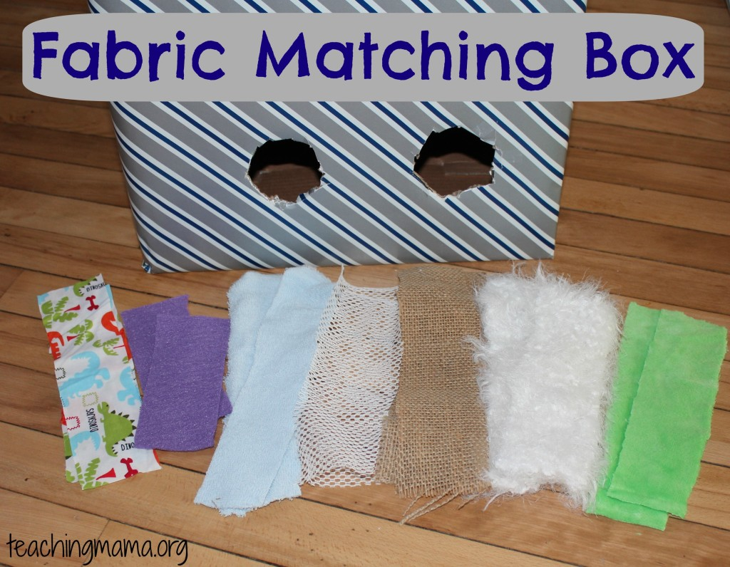 Fabric Matching Box Supplies