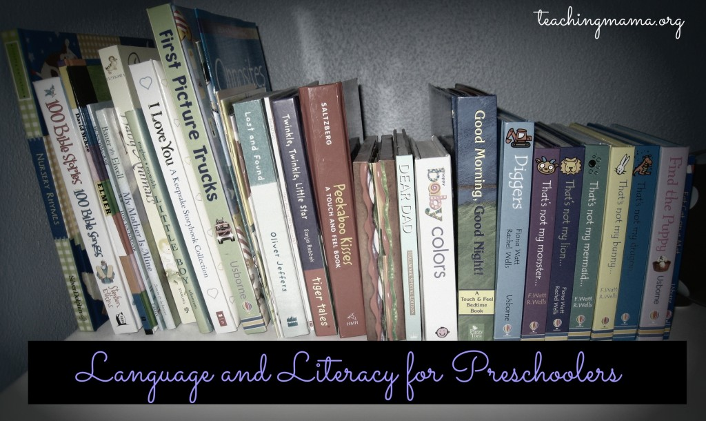 Developing Language and Literacy Skills in Preschoolers