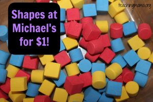 Toddler Tuesday: DIY Shape Sorter
