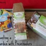 Planting a Garden with Preschoolers