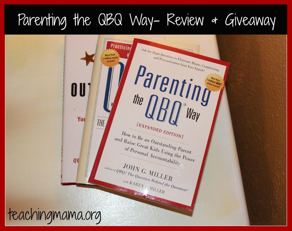 QBQ Parenting Book