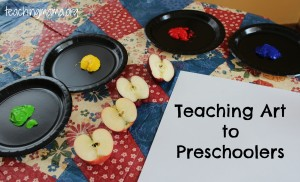 Teaching the Arts to Preschoolers