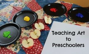 Teaching the Arts to Preschoolers