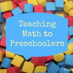 Teaching Math to Preschoolers