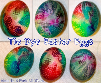 Tie Die Eggs
